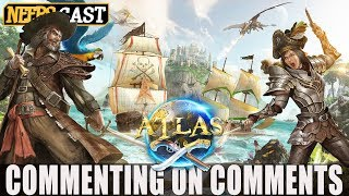 WE'RE NOT READY!!! Atlas Pirate Survival - Commenting on Comments