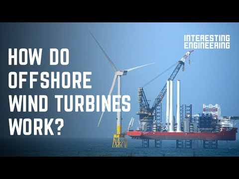 How do offshore wind turbines work?