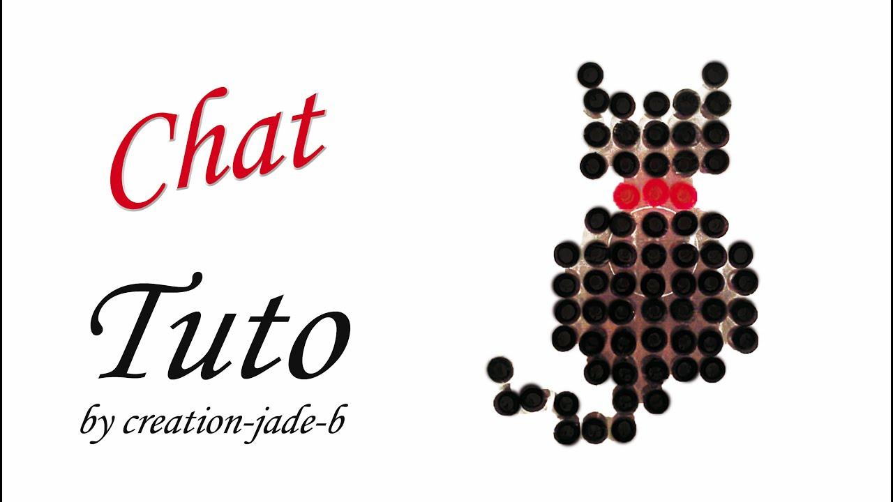Tuto De Perles Repasser Hama Petit Chat YouTube