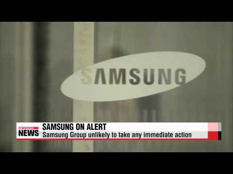Samsung Group on alert after chair receives surgery