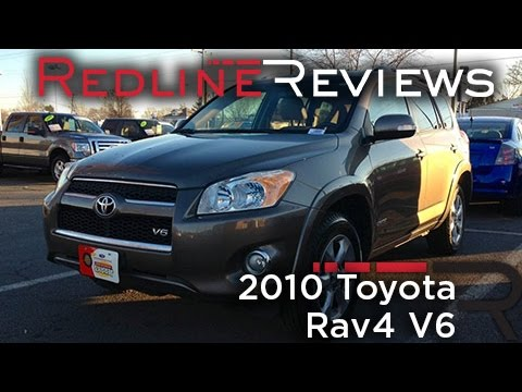 2010 Toyota Rav4 V6 Review, Walkaround, Exhaust, Test Drive