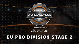 Week 6 Stage 2 [5/25]: Europe Pro Division Live Stream - Official Call of Duty® World League