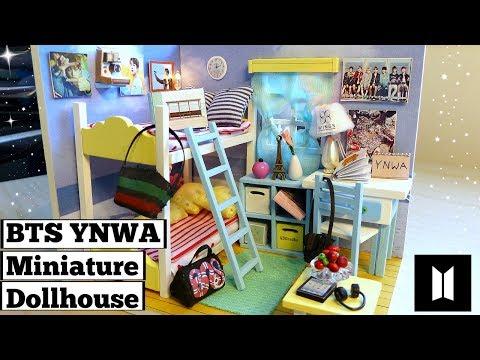 DIY Miniature Dollhouse For J-Hope & V (YNWA/Spring Day Theme)