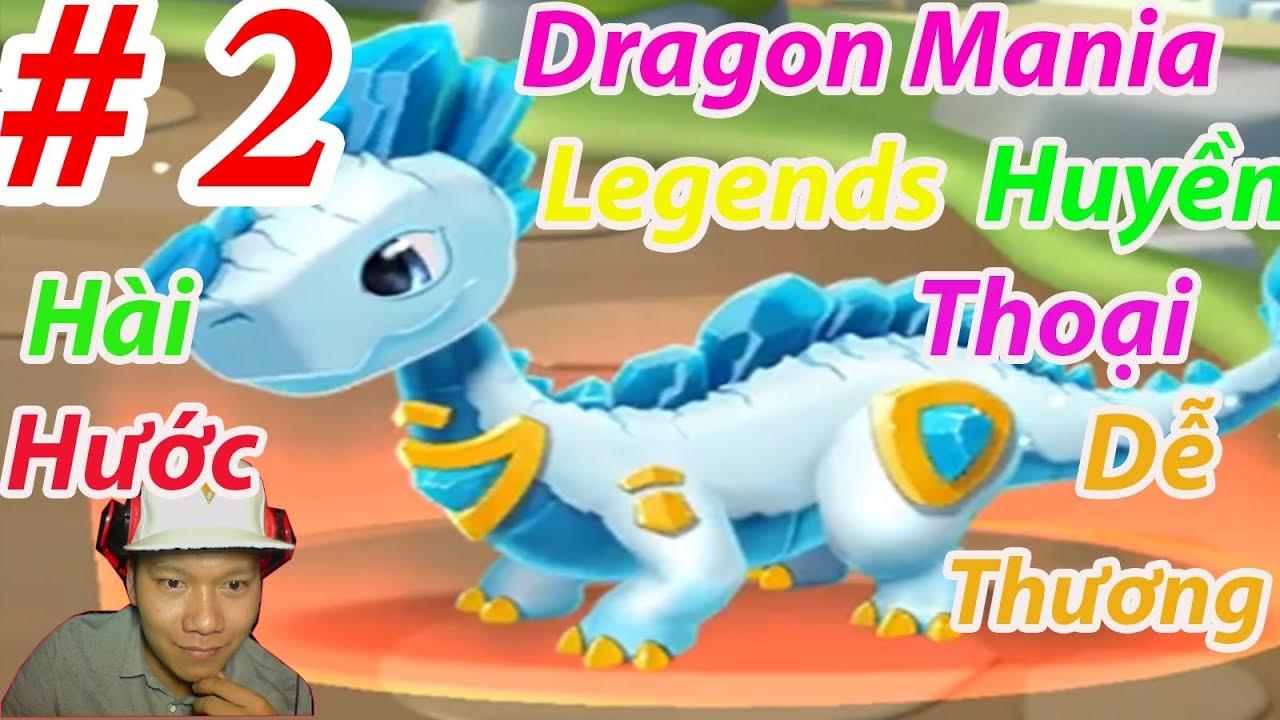Dragon Mania Legends Rồng New  Nông Trại HNT chơi game Đảo Rồng Thiên Thần HNT Channel New 2