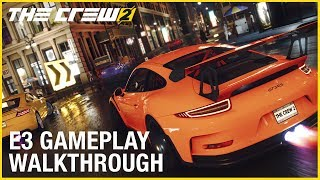 The Crew 2: E3 2017 Motorsports Gameplay | Ubisoft [US]
