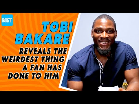 Tobi Reveals The Weirdest Thing A Fan Has Done To Him And More