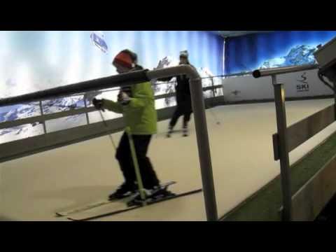 Skiing in Dublin Mountains Indoor Ski Centre