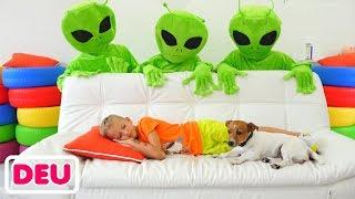 Vlad und die Kindergeschichte über grüne Freunde