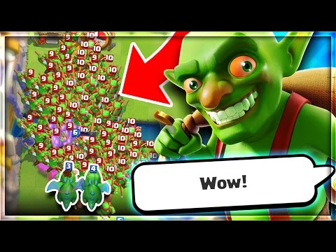 CAN 2 BABY DRAGONS TAKE OUT 150+ GOBLINS in Clash Royale!?