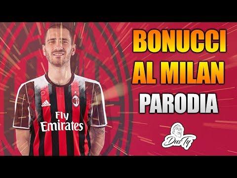 PARODIA BONUCCI AL MILAN [ TRA LE GRANITE E LE GRANATE -  FRANCESCO GABBANI ] #Fassone