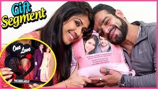 Karan Patel And Ankita Bhargava Gift Segment   TellyMasala