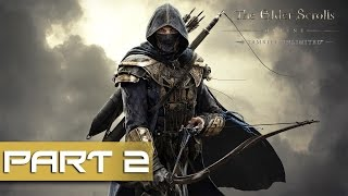 The Elder Scrolls Online Gameplay Walkthrough Part 2 - Snow!!
