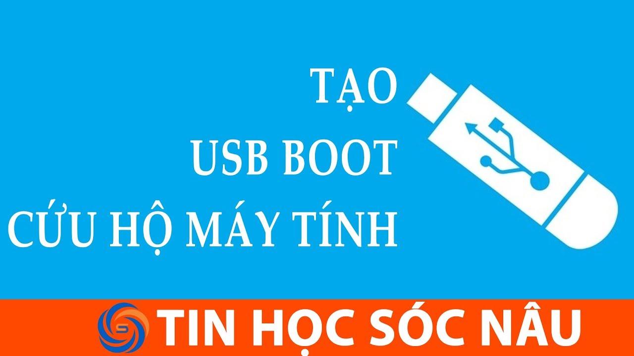 Tạo USB boot với HirenBoot để cứu hộ máy tính | Tin Học Sóc Nâu