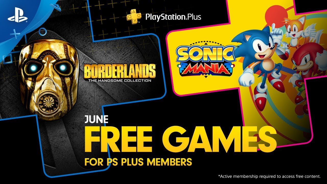 Free PlayStation 4 games for June 2019: 'Sonic Mania' and