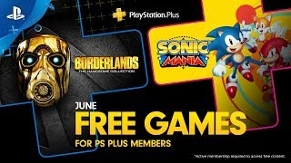 PlayStation Plus - Free Games Lineup June 2019 | PS4