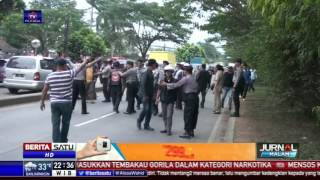 Massa GMBI dan FPI Sempat Terlibat Bentrok di Depan Mapolda Jabar