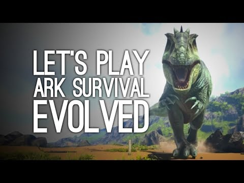 ARK Survival Evolved PS4 Gameplay: Let's Play ARK - People are the Worst, Dinosaurs are my Friends