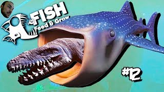 Mosasaurus Yutan Balina - Feed & Grow The Fish # 12