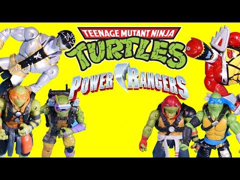 Teenage Mutant Ninja Turtles Vs Power Rangers / Luck or Trap?