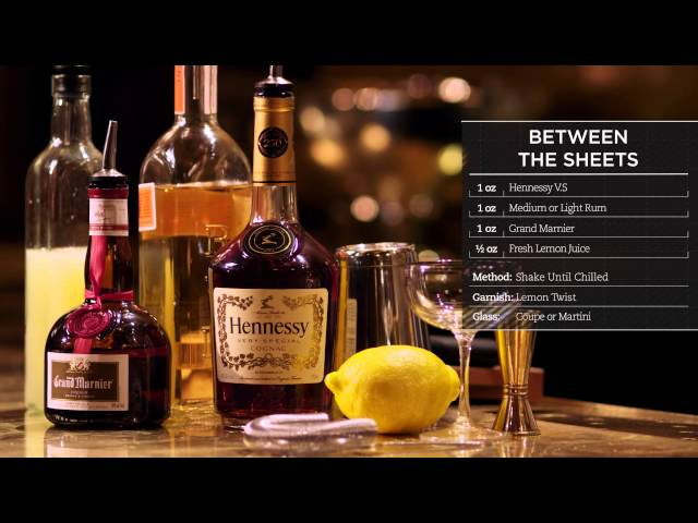 Hennessy Cocktails | Between the Sheets