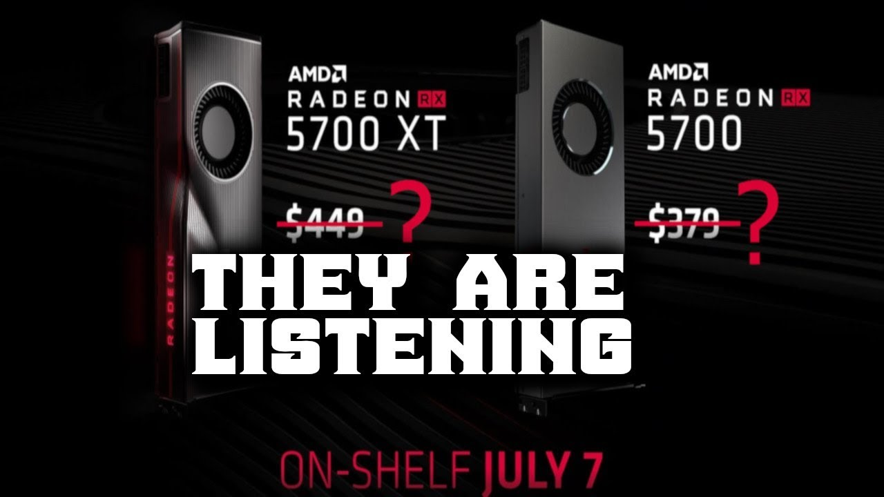 AMD RX 5700 series Getting a price drop BUT is it enough!?