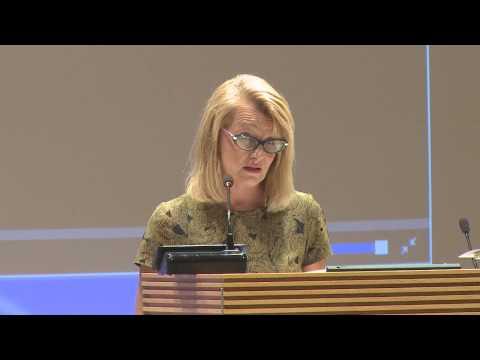 Eurooppa- ja ulkomaankauppaministeri Lenita Toivakan puheenvuoro