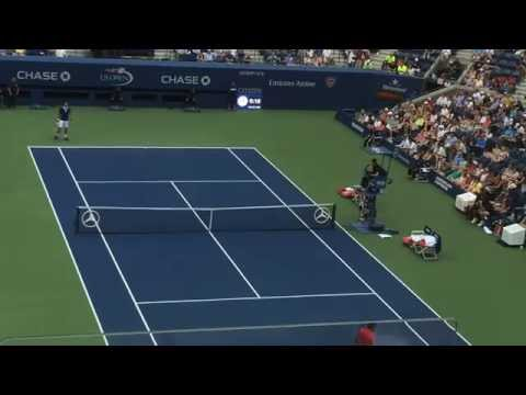 Novak Djokovic vs Joao Souza US Open R1
