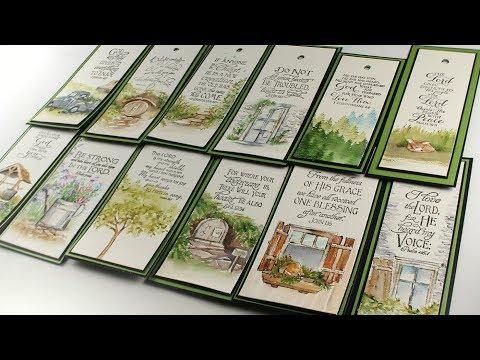 AI Watercolor Bookmarks + New Bible Journaling Class