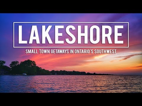 WEEKEND ITINERARY In LAKESHORE, ONTARIO!