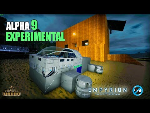 STARTER HOVER VESSEL HV | EARLY LOGISTICS INFO | Empyrion Galactic Survival ALPHA 9 EXP | Ep. 8