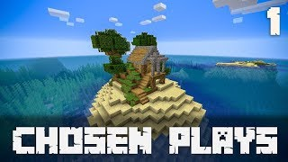 Chosen Plays Minecraft 1.13 Ep: 1 Little Starter Home