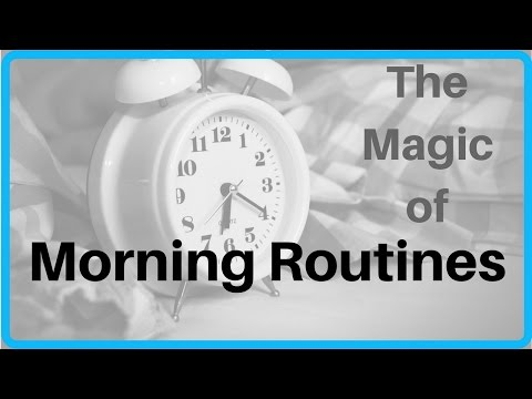 The Magic of Morning Routines for Reducing Skin Picking and