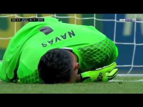 Keylor Navas INSANE SAVE  OF THE SEASON ▶ Malaga vs Real Madrid 0-1 La Liga