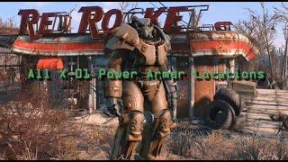 Fallout 4 - All X-01 Power Armor Locations
