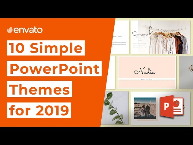 Top 10 Simple PowerPoint Themes for 2019