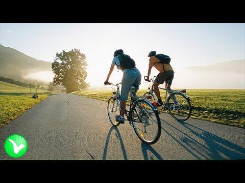 Езда на велосипеде. Польза и Вред велосипедных прогулок.