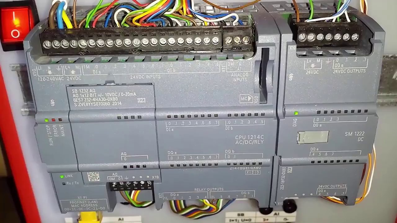 Wiring Diagram Plc Whirlpool Electric Dryer Siemens S7 1200 Tutorial Configuration And Parameterization Eng
