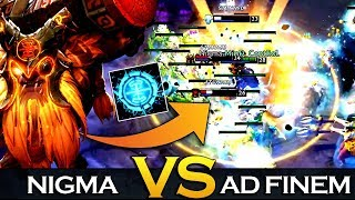 NIGMA vs AD FINEM - CRAZY TIEBREAKER MATCH - Dreamleague Season 13 Dreamhack Leipzig Major Dota 2