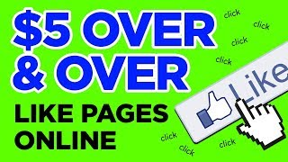 EARN OVER & OVER TO LIKE PAGES (Easy Work)