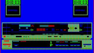 BKdemo on soviet home computer BK-0010 (1985)