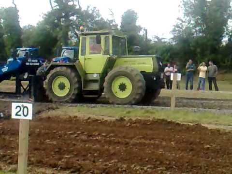 Mercedes Mb Trac 1500 Turbo Tractor Pulling Fingal Vintage Show 2010