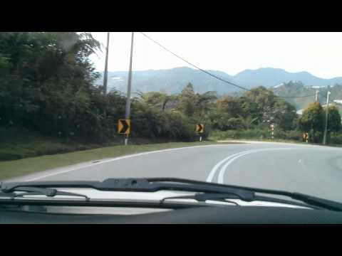 BMW E30 Cameron Highlands Drive (Simpang Pulai start) Part 2