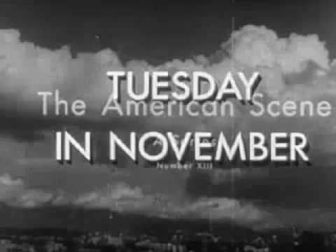 Tuesday in November 1944 U.S. Presidential Election Documentary