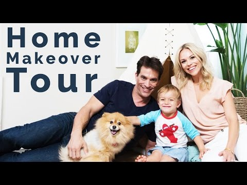 Julie Solomon x Johnathon Schaech Home Tour  With World Market and Decorist
