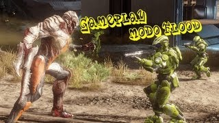 Halo 4 modo flood/infeccion - gameplay
