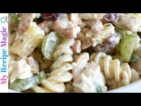 Fruity Cashew Chicken Pasta Salad