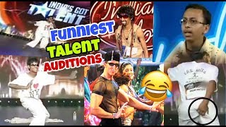 Funniest Talent Auditions| Funny Indian Idol Audition| Funny India's Got Talent Auditions