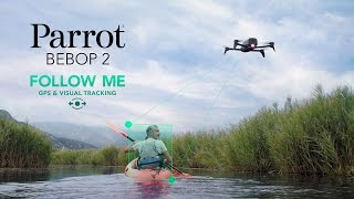Parrot Bebop 2 - Follow-me GPS & visual tracking thumbnail