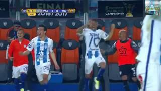 COLOR PACHUCA VS TIGRES FINAL DE CONCACAF