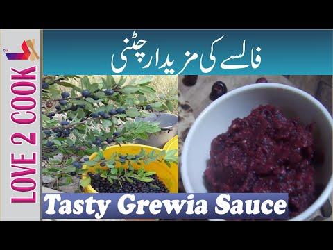 Tasty Falsa-False-Falsay-Grewia Chutney-Chatni-Sauce Recipe In Urdu Hindi